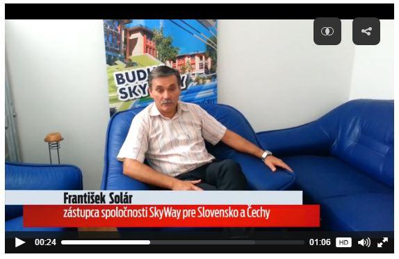 Skyway húrvasút épül Szlovákiában ?