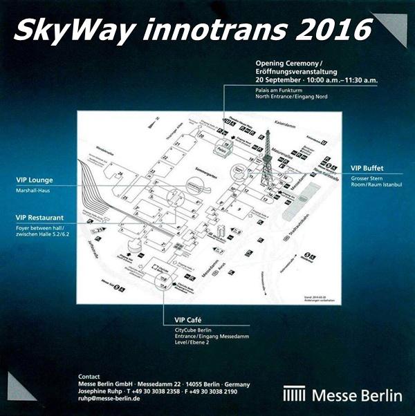 SkyWay részt vesz a világ legnagyobb közlekedési kiállításán