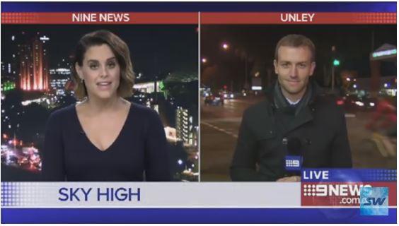 SkyWay az ausztrál tévécsatornán !