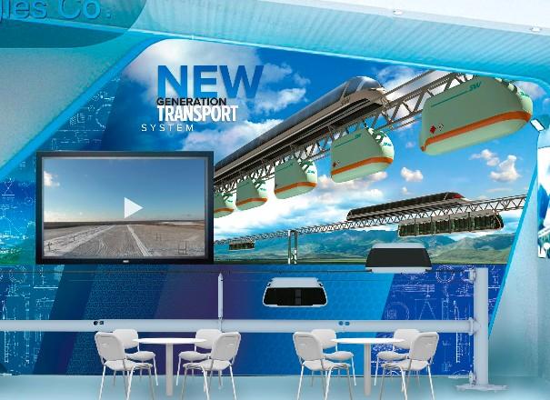 A SkyWay technológia bemutatkozik Indonéziában a RailwayTech 2017 kiállításon