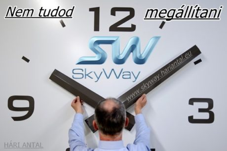 Egyszerre két fázis váltás a Sky Way cégcsoportnál tízről tizenkettőre