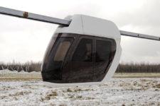 Unibike, a húrszállítás legelső járműve amely szabadtéri menetpróbáit a SkyWay Belorussziában található központjában végezte