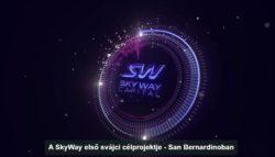 A SkyWay első svájci célprojektje