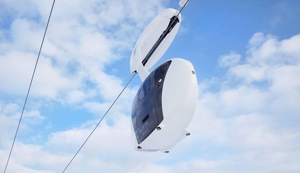 A Sky Way legkisebb közlekedési eszköze - Uniwind