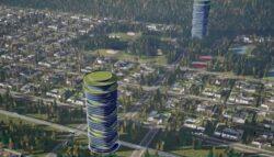 Milyen lesz a SkyWay lineáris város?