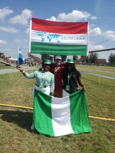 Közös fotó Nigéria