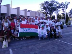 Az Eko Fesztre kiutazott csoport